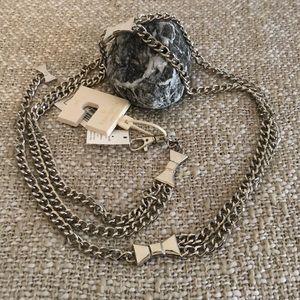 KATE SPADE chain belt
